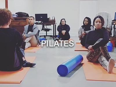 Pilates classes at Savvy Marketing
