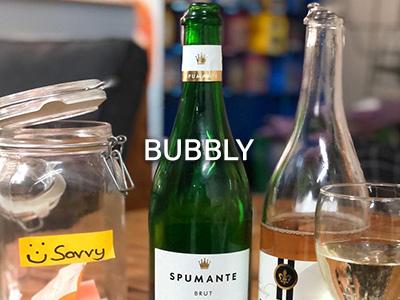 Bubbly at Savvy Marketing